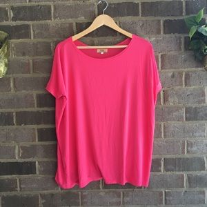 Piko 1988 Pink 3/4 Sleeve Perfect Piko Tee